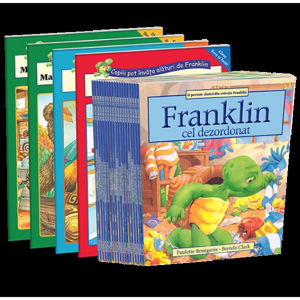 Colectia Franklin, set 32 carti (26 Povesti si 6 Activitati)