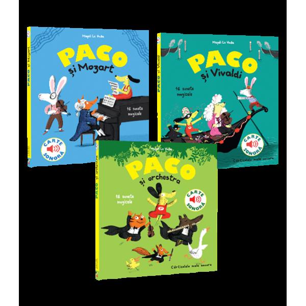 Colectia Paco, 3 carti sonore