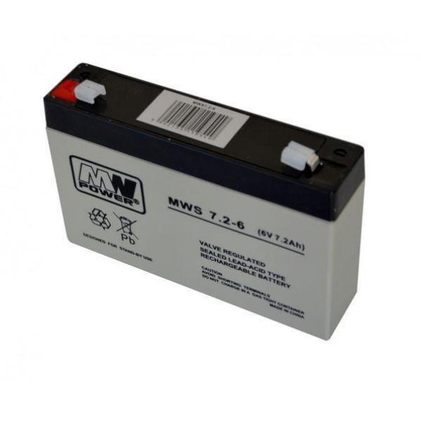 ACUMULATOR 7.2AH/6V MW POWER
