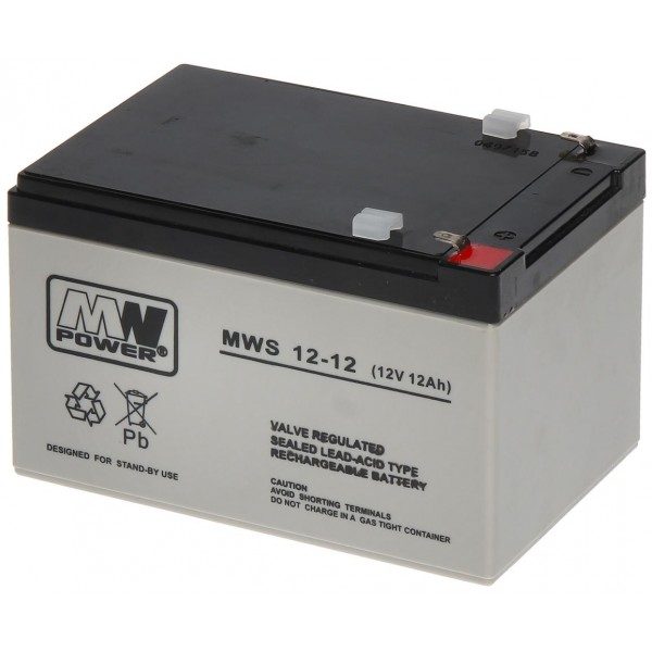 ACUMULATOR 12AH/12V MW POWER