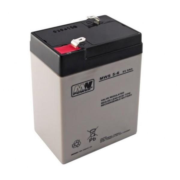 ACUMULATOR 5AH/6V MW POWER MWS5-6