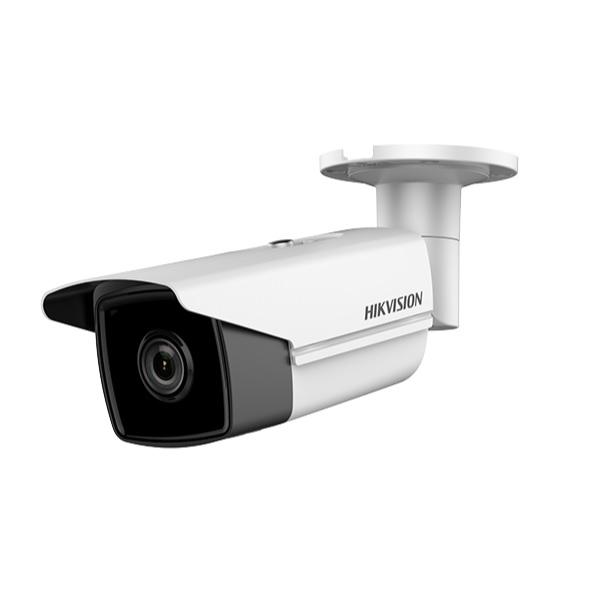 Camera bullet IP Hikvision DS-2CD2T43G0-I8, 2.8MP, lentila 4mm, IR 80m, slot card, VCA, PoE - gss.ro