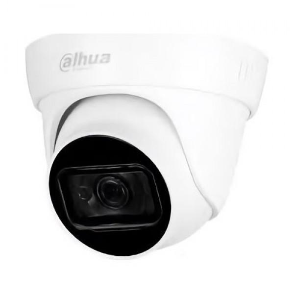 Camera de supraveghere Dahua HAC-HDW1200TL-A-0280B, HDCVI Eyeball 2MP, 1/2.7 CMOS, 30fps@2MP, CVI/CVBS/AHD/TVI, 2.8mm, IR30m, Smart IR, Built-in mic, IP67