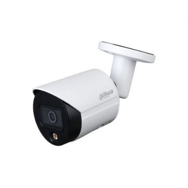 Camera de supraveghere IP Bullet, 2MP, 2.8mm, Lumina alba 30m, Dahua IPC-HFW2239S-SA-LED-0280B-S2
