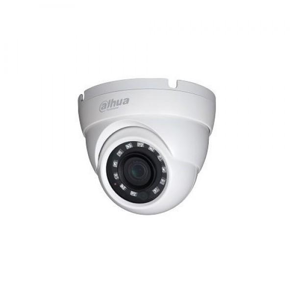 Camera de supraveghere Dahua HAC-HDW1800M-0280B, HDCVI Dome 4K, CMOS 1/2.7'', 2.8mm, IR 30m, IP67, carcasa metal