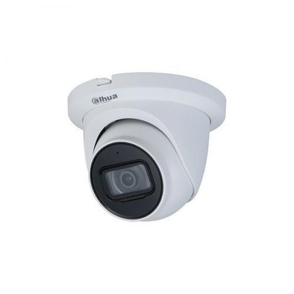 Camera de supraveghere Dahua HAC-HDW1200TMQ-A-0280B, HDCVI Dome 2MP, CMOS 1/2.7'', 2.8mm, IR 30m, Microfon, IP67