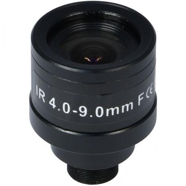 Accesoriu supraveghere PXW Lentila CS 1/3 inch CCD, f:4-9mm