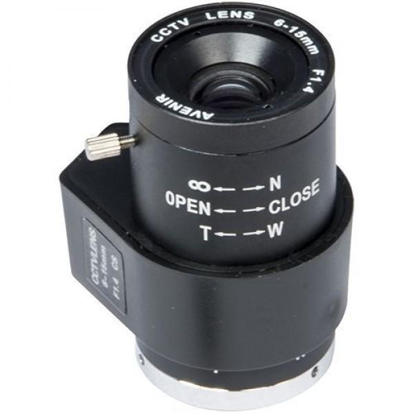 Accesoriu supraveghere PXW Lentila CS 1/3 inch CCD, f: 6 - 15mm