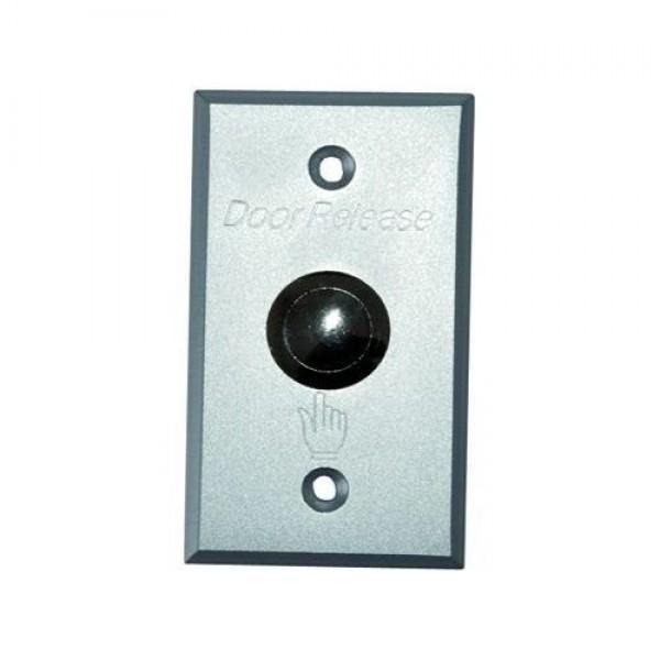 Accesoriu control acces PXW B-804, Buton metalic iesire, NO