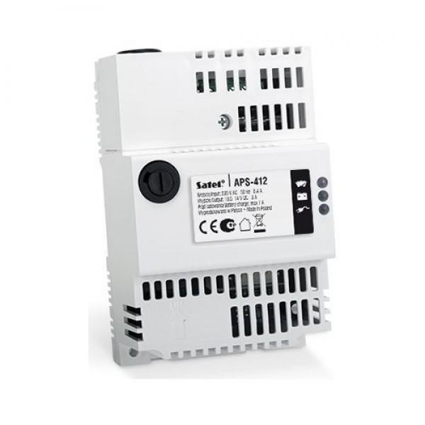 Accesoriu Satel APS-412, Sursa alimentare cu back-up, 12V/4A