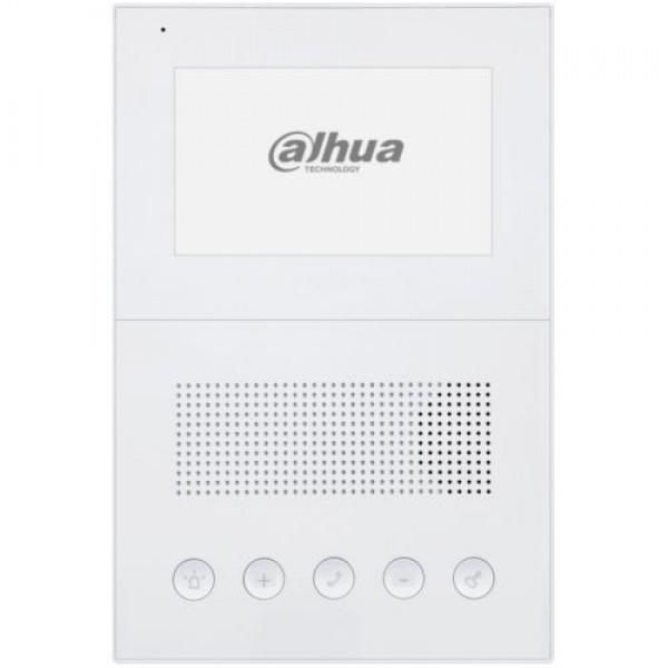 Post interior audio Dahua IP VTH2201DW, 5 butoane, Intercom, Alarma