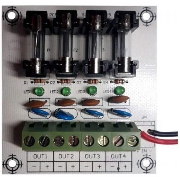 Accesoriu supraveghere PXW AQT-M4V, Modul extensie sursa AQT 4 iesiri