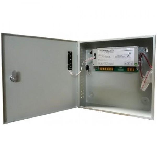 Accesoriu supraveghere PXW Sursa de alimentare AQT-1210N-01BD, 12V / 10A, 1 iesire cu back-up