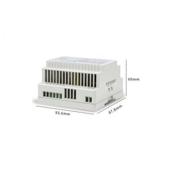 Accesoriu supraveghere PXW STD-DIN60-24UPSZ, Sursa alimentare 24V 2.5A 60W, sina DIN, iesire backup