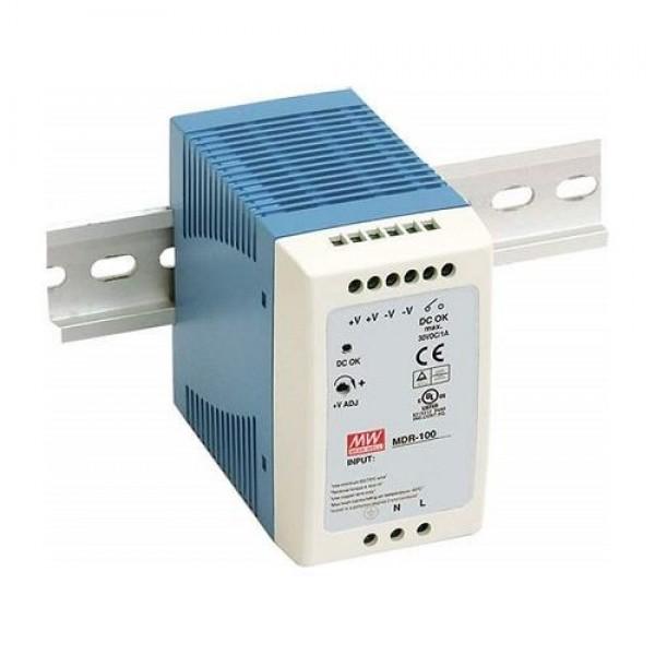 Accesoriu supraveghere Mean Well MDR-100-24 Sursa de alimentare 24V DC, 4A, 96W, sina DIN
