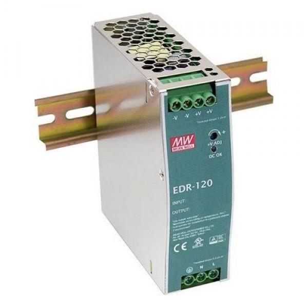 Accesoriu supraveghere Mean Well EDR-120-12 Sursa de alimentare 12V DC, 10A, 120W, sina DIN