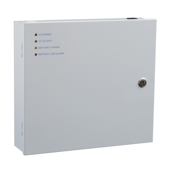 Sursa de alimentare 12V/10A, back-up in cabinet metalic SDC-12-10B