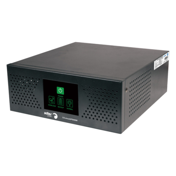 Sursa neintreruptibila, UPS 500VA/400W, SINUS pur  - ADLER SinusUPS-400W-WM