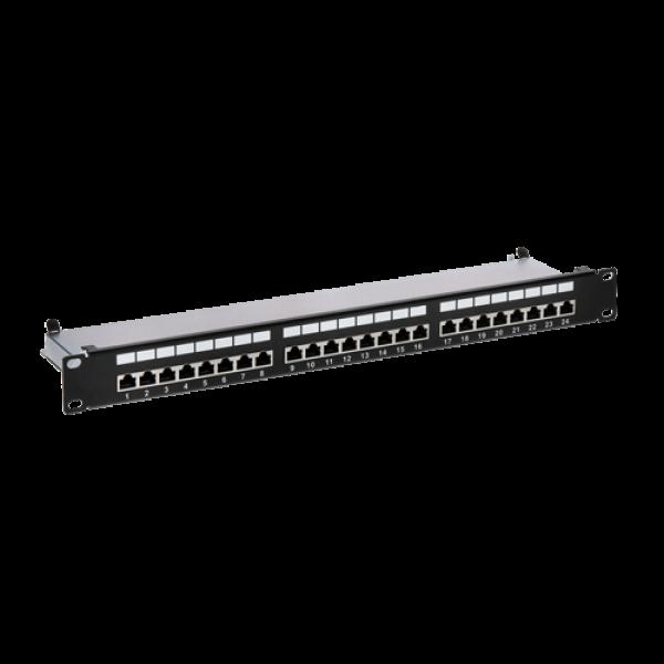 Patch Panel 1U, FTP cat6, 24 porturi RJ45 - ASYTECH Networking ASY-PP-FTP6-24