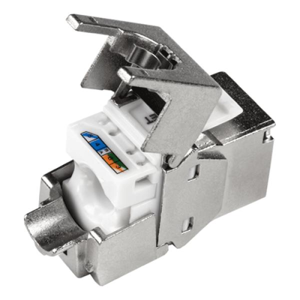 Mufa ecranata RJ-45 UTP Cat.6 tool-less - TRENDnet TC-K06C6A