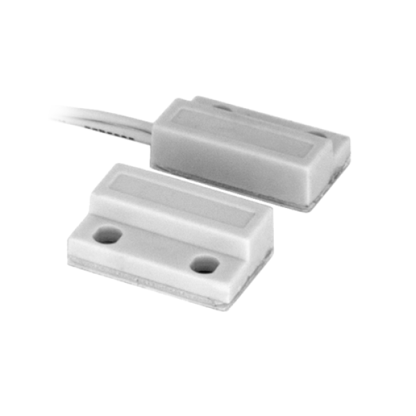 Contact magnetic aparent, NC, autoadeziv (alb) CM-34-ALB
