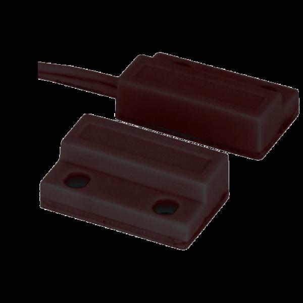 Contact magnetic aparent, NC, autoadeziv (maro) CM-34-MARO