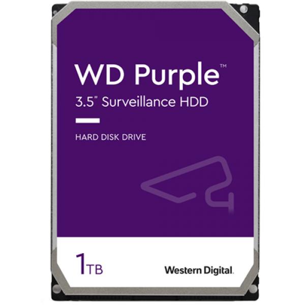 Hard disk 1TB - Western Digital PURPLE WD10PURX