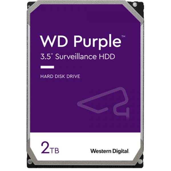 Hard disk 2TB - Western Digital PURPLE WD20PURX