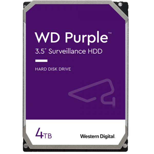 Hard disk 4TB - Western Digital PURPLE WD40PURX
