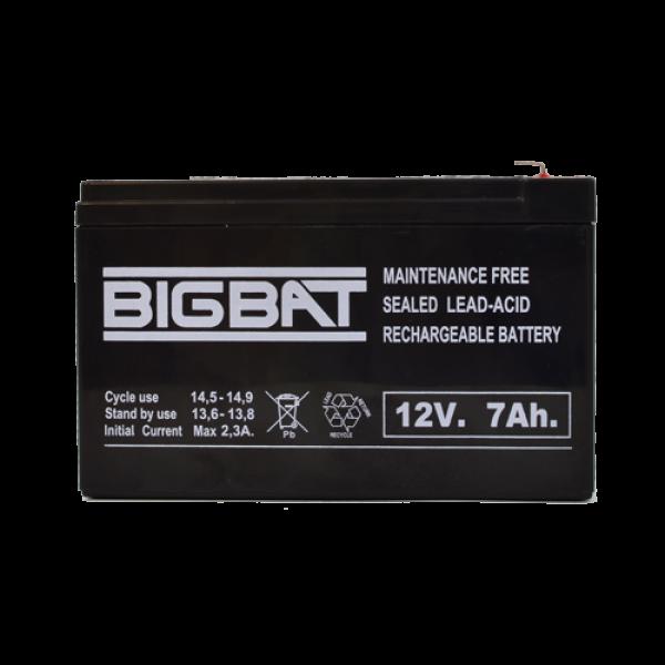 Acumulator BIG BAT 12V, 7 AH BB12V7