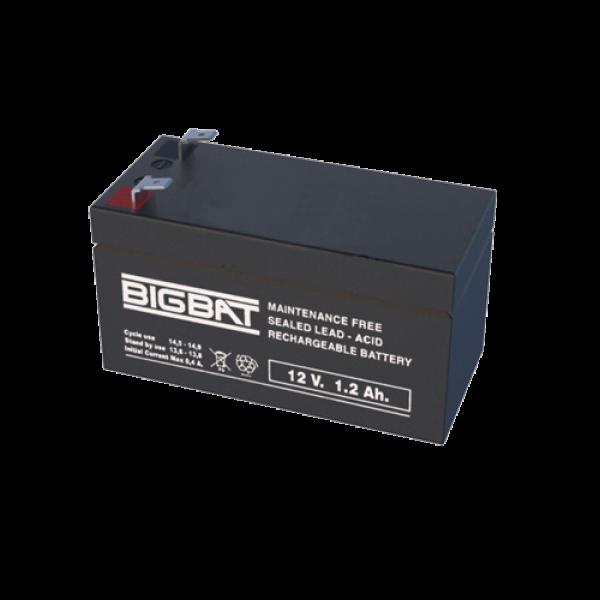 Acumulator BIG BAT 12V, 1.2 Ah BB12V1.2