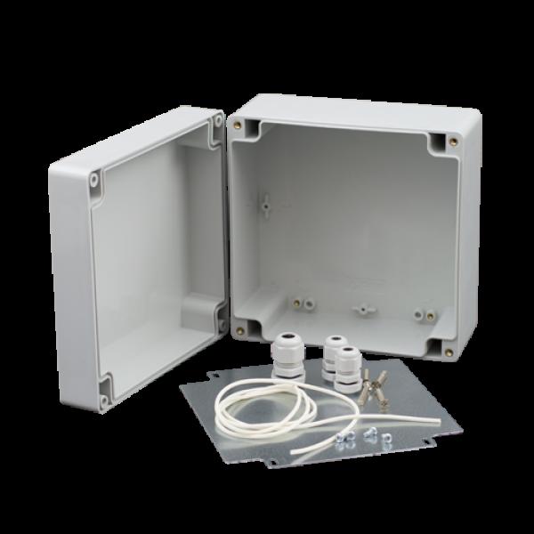 Doza exterior cu placa metalica montaj echipamente AWO603