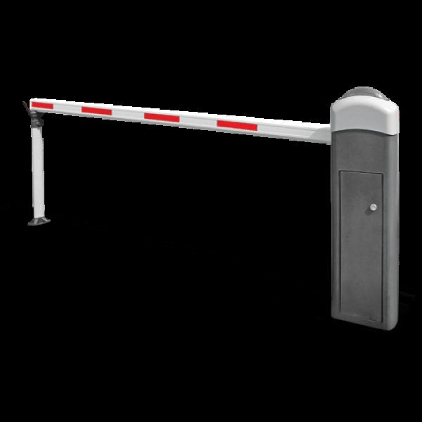 Kit bariera acces auto, brat telescopic 3.6 - 6 metri, stanga, 24V, Motorline