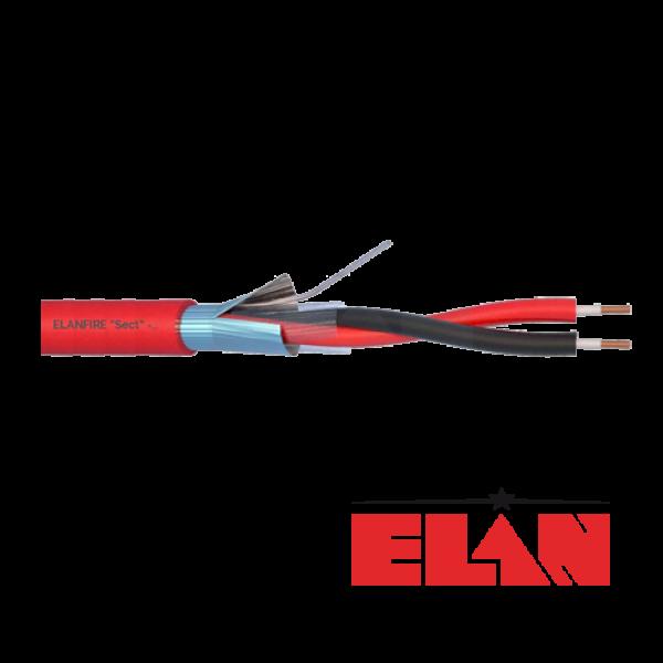 Cablu de incendiu E120 - 1x2x0.8mm, 100m ELN120-1x2x08