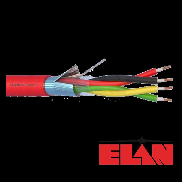 Cablu de incendiu E120 - 2x2x0.8mm, 100m ELN120-2x2x08