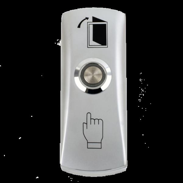 Buton iesire aplicabil din metal, cu LED CSB-805L