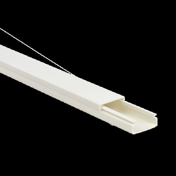 Canal cablu 20x10 mm cu adeziv, 2m - DLX PVCA-206-10