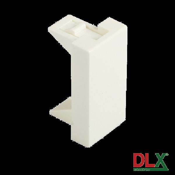Capac fals pentru aparataj 45x22.5 mm (1 modul) - DLX DLX-245-51