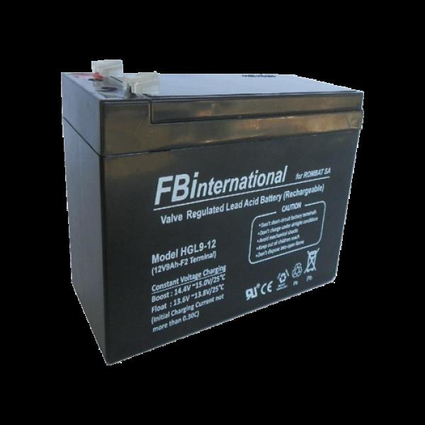 Acumulator 12V, 9Ah -FBi HGL12-9
