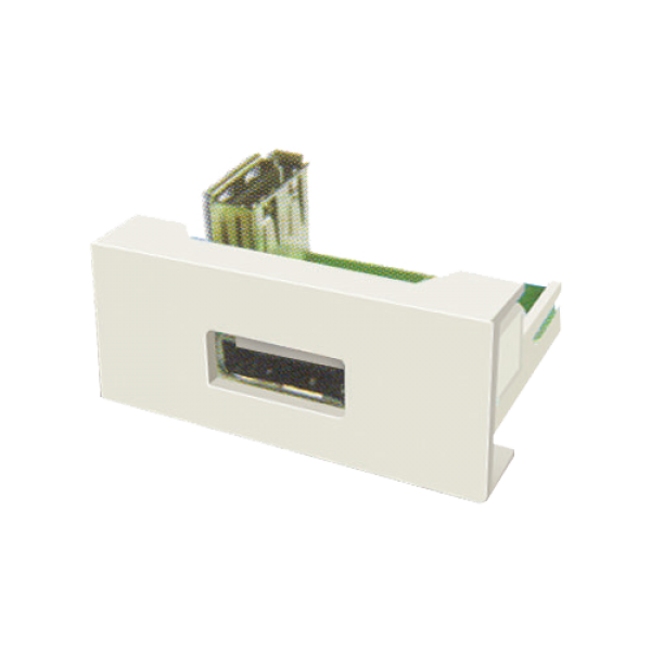 Panel echipat cu socket USB (1 modul) - DLX DLX-245-62