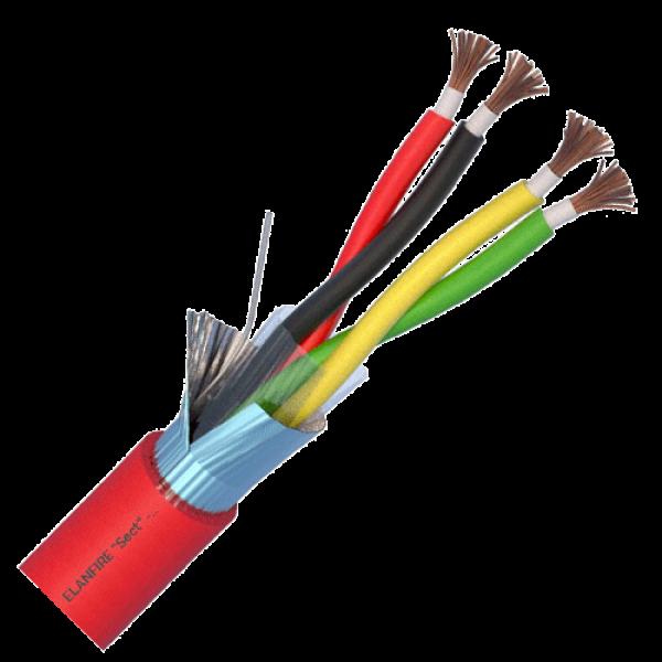 Cablu de incendiu E120 - 2x2x1.0mm, 100m - ELAN ELN120-2x2x1.0