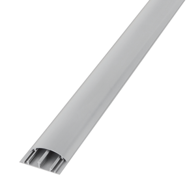 Canal cablu pardoseala cu capac, 2m - DLX PVCO-520-12