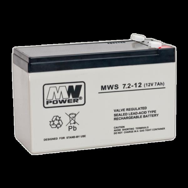 Acumulator 12V, 7.2Ah - MWS MWS12-7.2