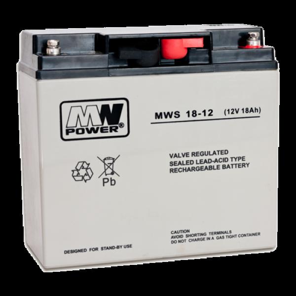 Acumulator 12V, 18Ah - MWS MWS12-18