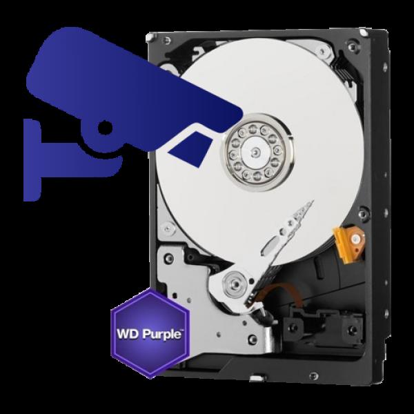 Hard disk 6TB - Western Digital PURPLE WD60PURX