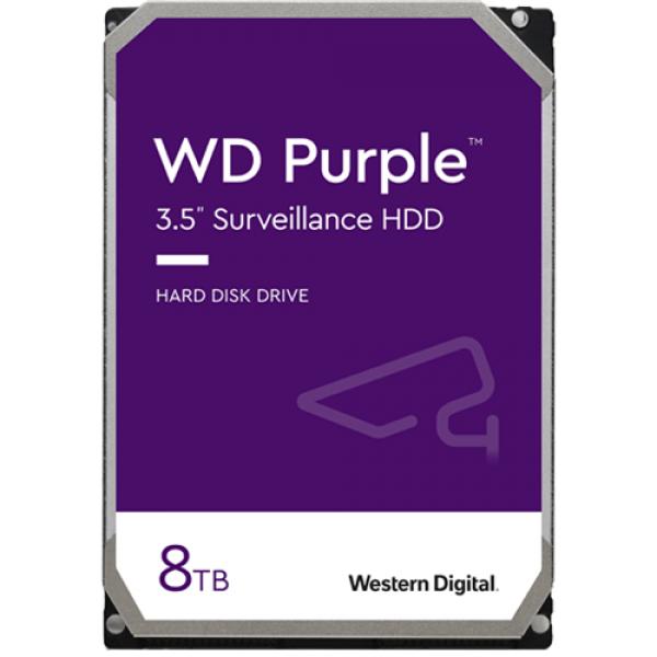 Hard disk 8TB - Western Digital PURPLE WD80PURX