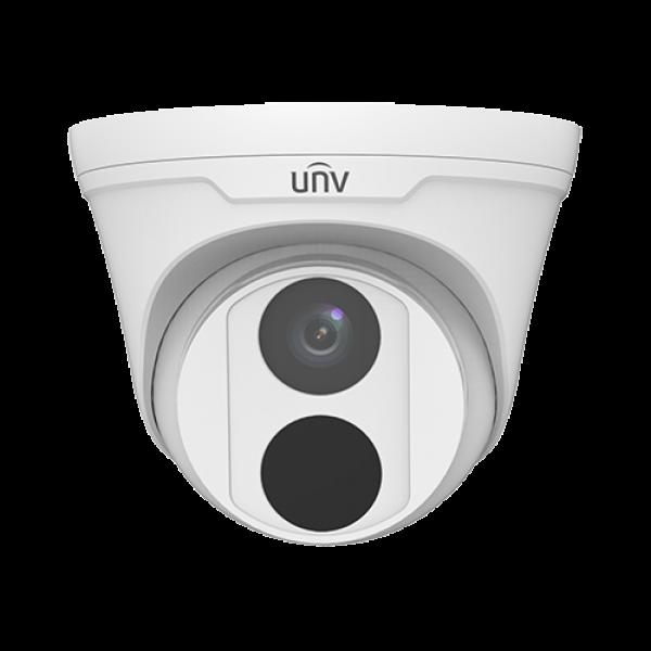 Camera de supraveghere IP Turret, 2MP, IR 30m, 2.8mm, Uniview IPC3612LR3-PF28-D