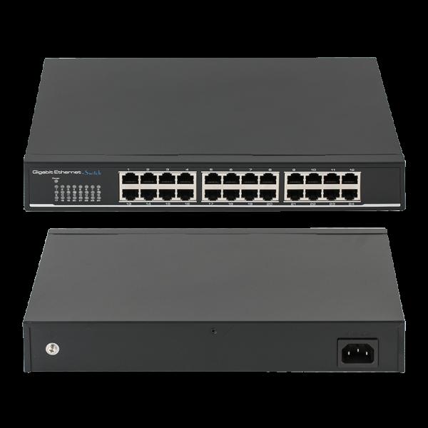 Switch 24 porturi gigabit - UTEPO SG24-M - gss.ro
