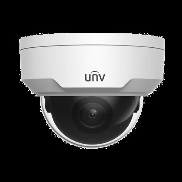 Camera IP 8 MP, lentila 2.8 mm, IR 30m, IK10 - UNV IPC328LR3-DVSPF28-F