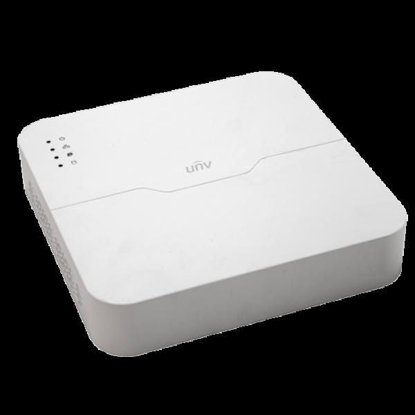 NVR 4 canale 6MP + 4 porturi PoE - UNV NVR301-04LS2-P4